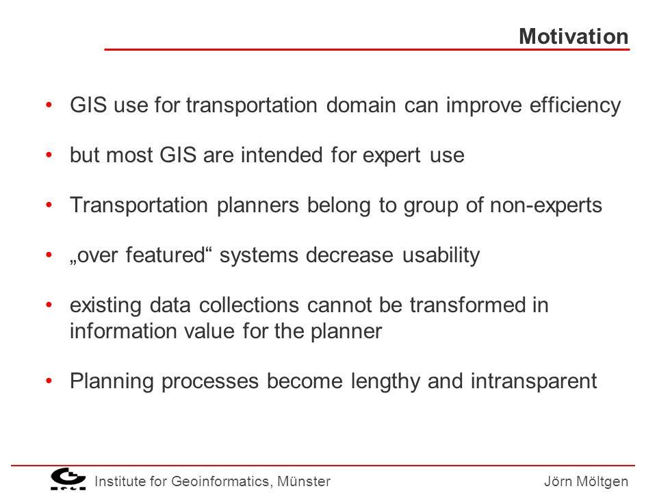 Institute for Geoinformatics, MünsterJörn Möltgen User Task Model