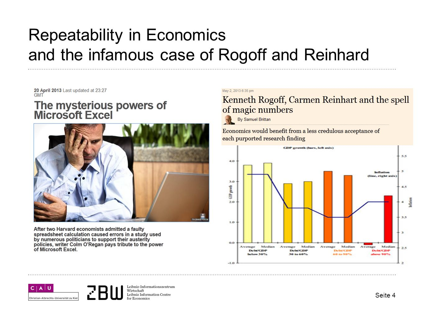Repeatability in Economics and the infamous case of Rogoff and Reinhard Seite 4