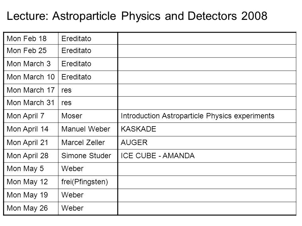 Big Detectors for Neutrinos and Astroparticle Physics Super Kamiokandewater tank cerenkov (atm ) SNOwater tank cerenkov (solar ) ANTARESsea water cerenkov (upw ) AMANDA, ICE CUBEice cerenkov MAGIC ( HEGRA )air cerenkov AUGERwater cerenkov, fluorescence telescopes PAMELAspace mission KASKADEplastic scint, streamer tubes