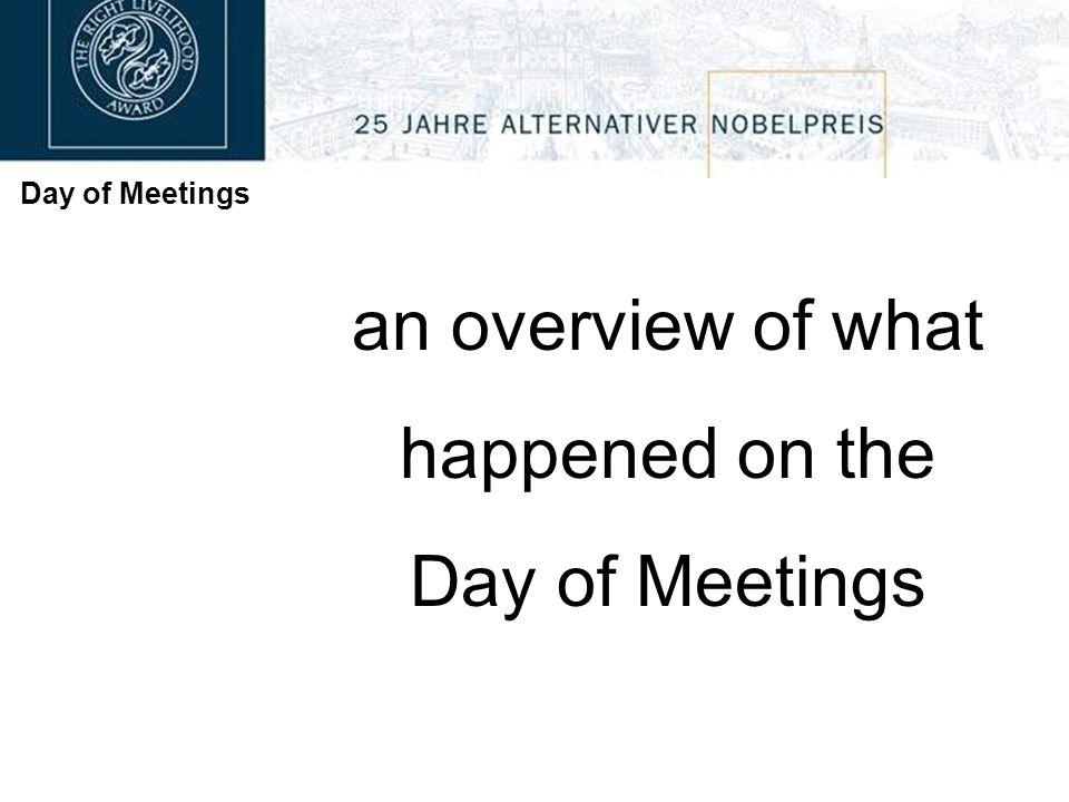 Day of Meetings Goldegg