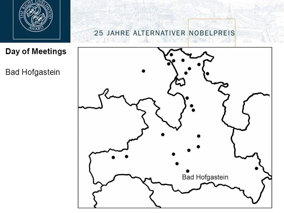 Day of Meetings Goldegg 10:00 High Schools in Schwarzach & St.