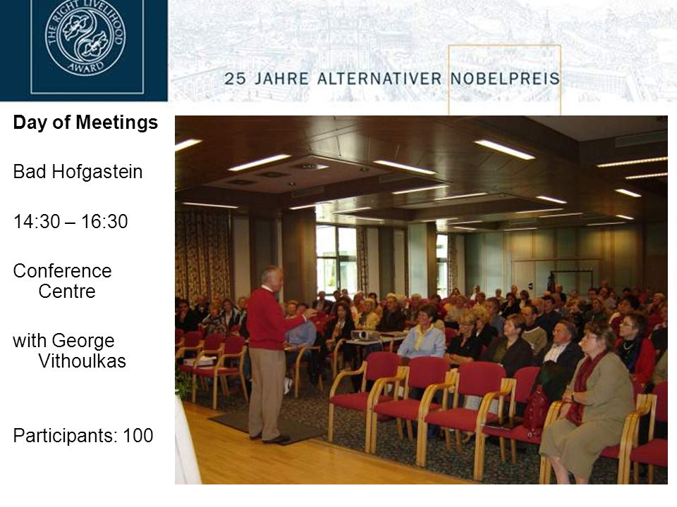 Day of Meetings Hallein