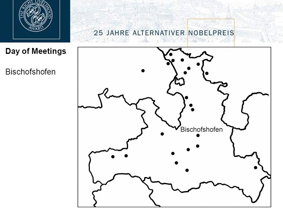 Day of Meetings Bramberg 19:00 Felberhaus with Tapio Mattlar John F.C. Turner Participants: 50