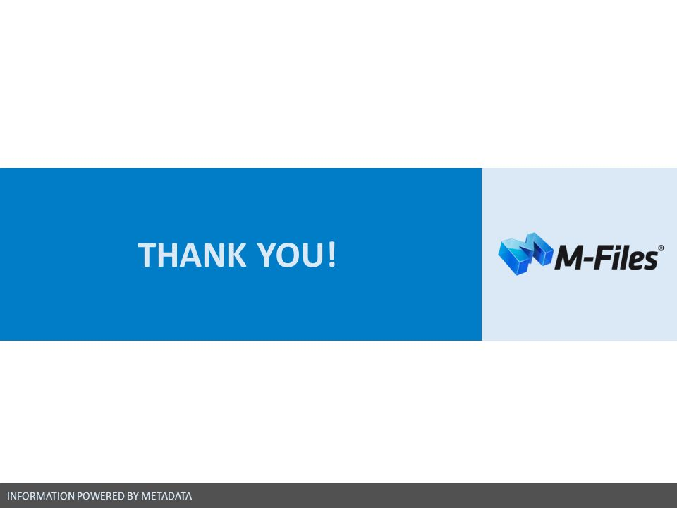 INFORMATION POWERED BY METADATA THANK YOU!