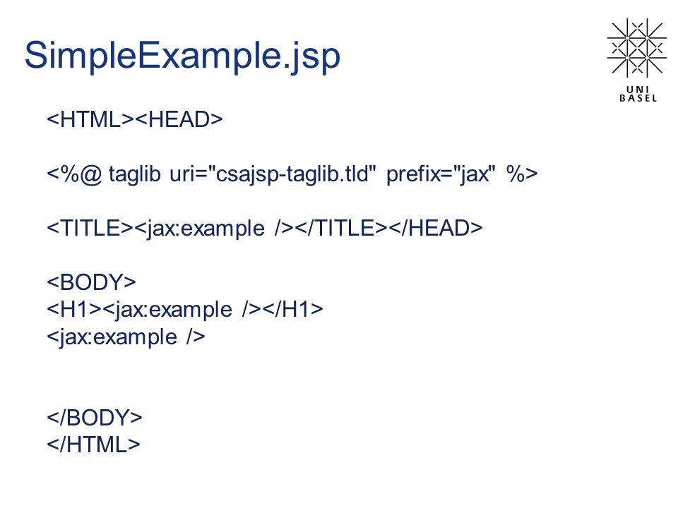 SimpleExample.jsp
