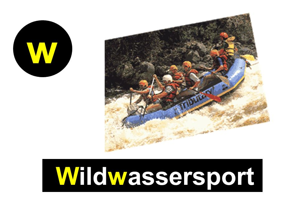 Wildwassersport w