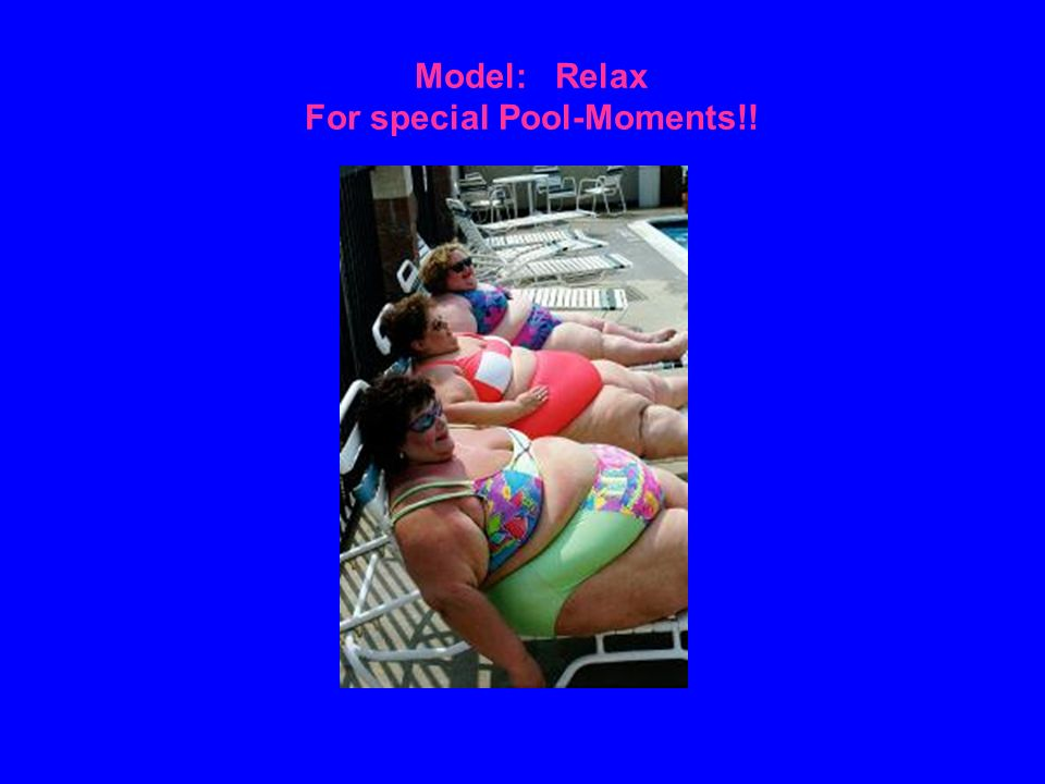 Model: Relax For special Pool-Moments!!