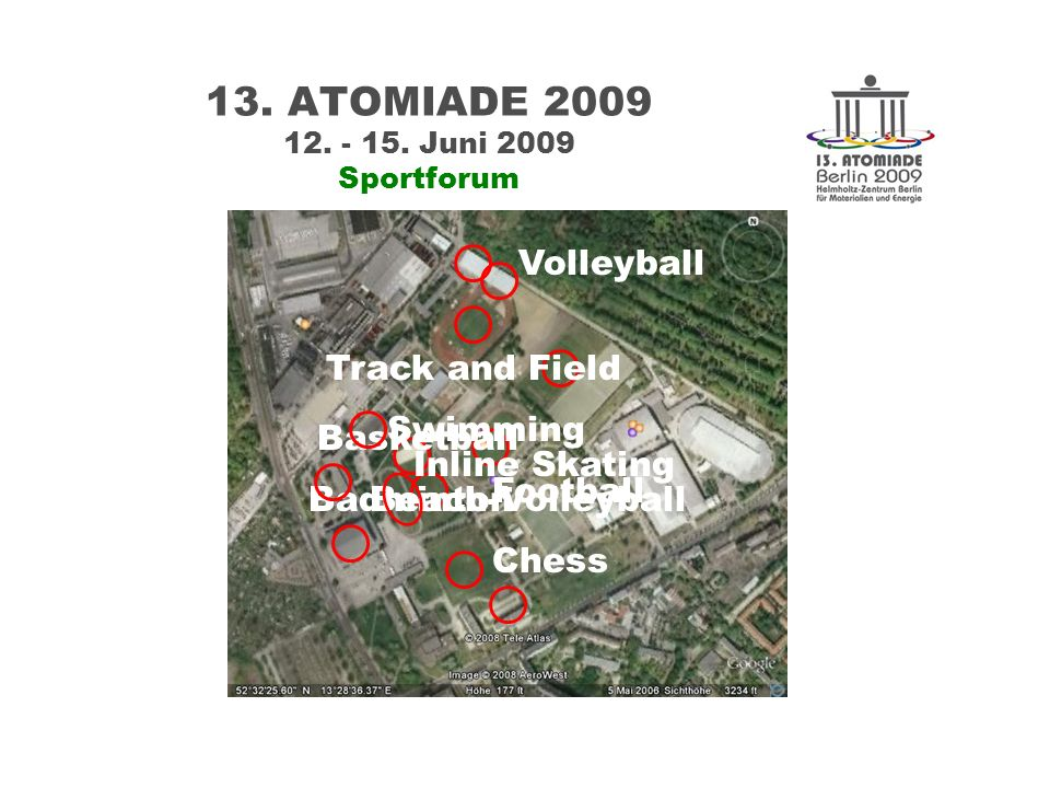13. ATOMIADE 2009 12. - 15.