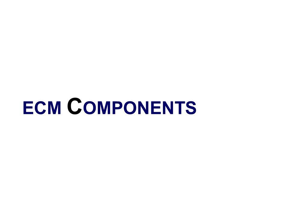 ECM C OMPONENTS