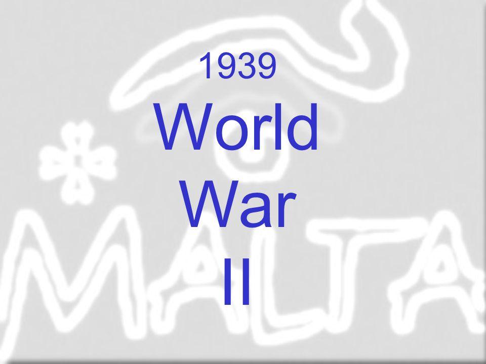 1939 World War II World war