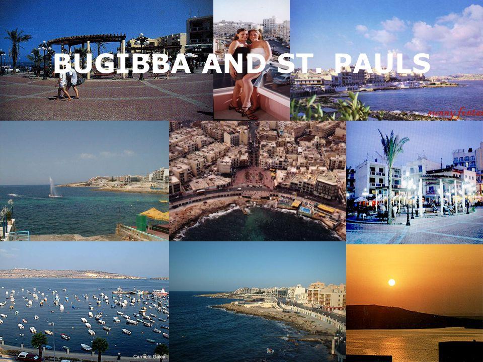 BUGIBBA AND ST. PAULS
