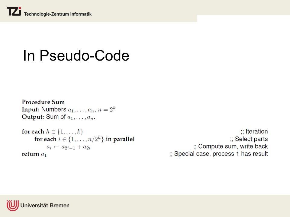 In Pseudo-Code