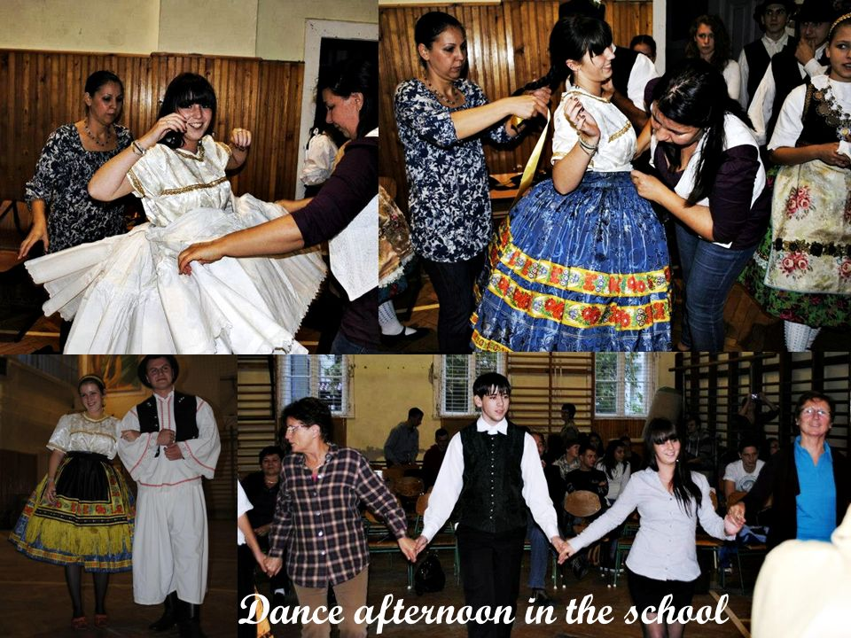 Dance afternoon in the school