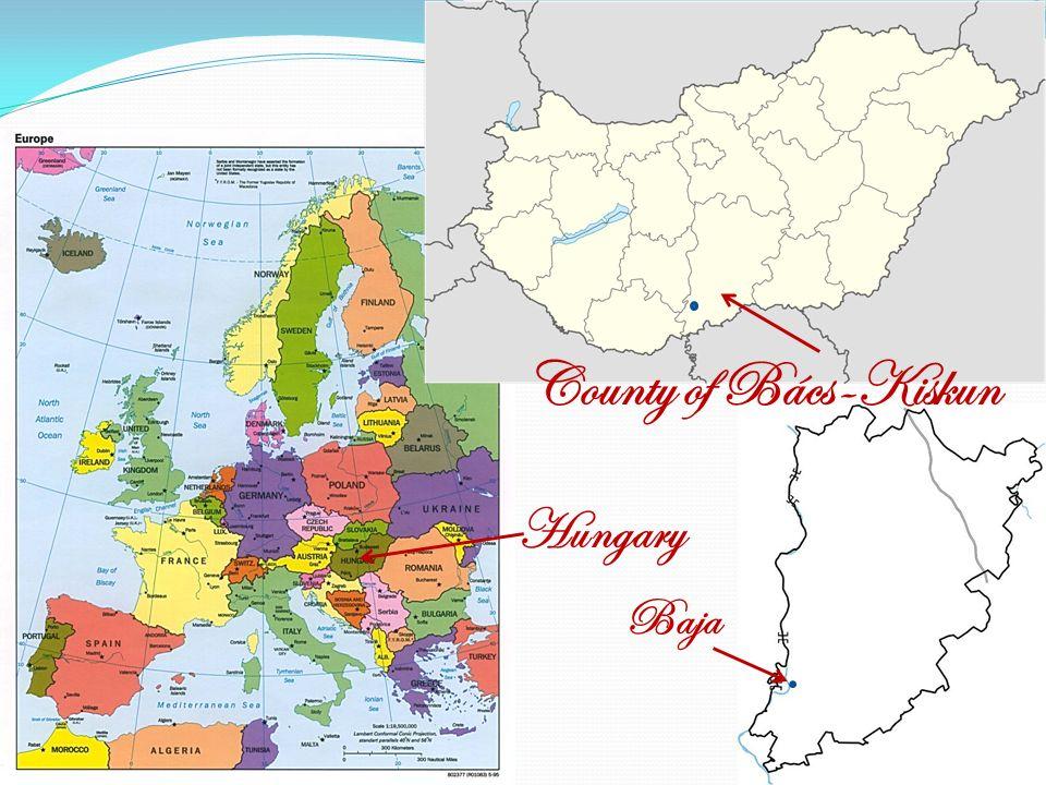 Hungary Baja County of Bács-Kiskun