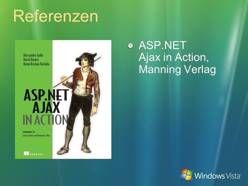 Referenzen ASP.NET Ajax in Action, Manning Verlag