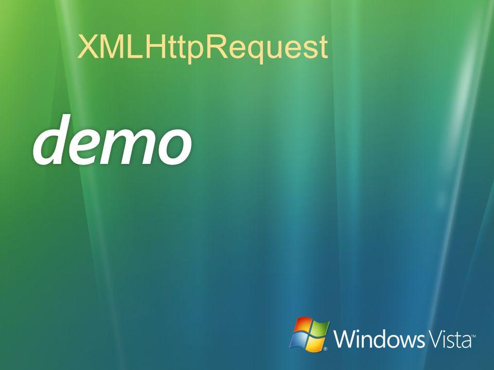 XMLHttpRequest