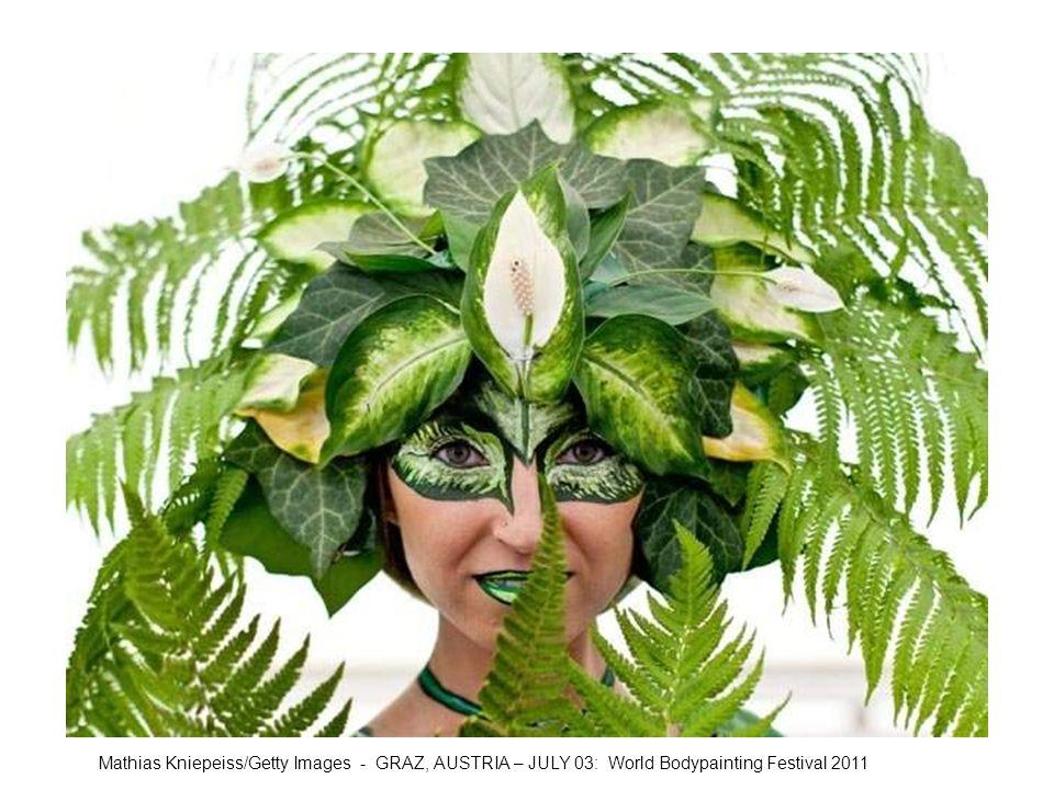Mathias Kniepeiss/Getty Images - GRAZ, AUSTRIA – JULY 03: World Bodypainting Festival 2011