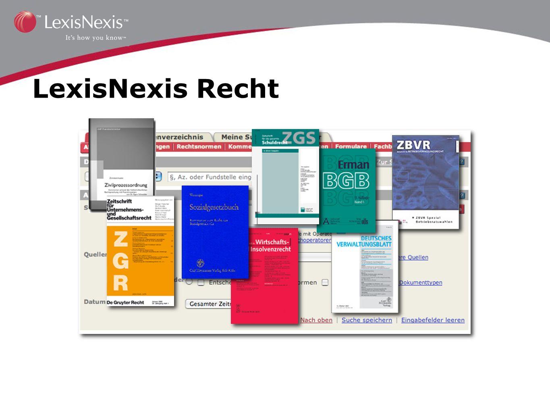LexisNexis Recht