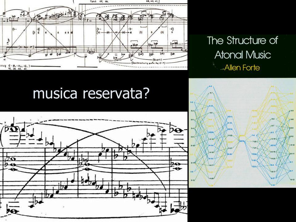 musica reservata?