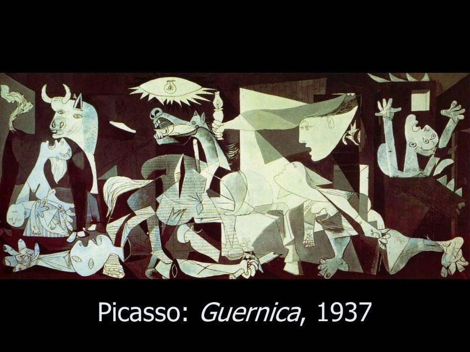 Picasso: Guernica, 1937