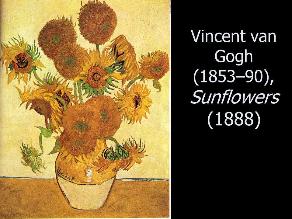 Vincent van Gogh (1853–90), Sunflowers (1888)