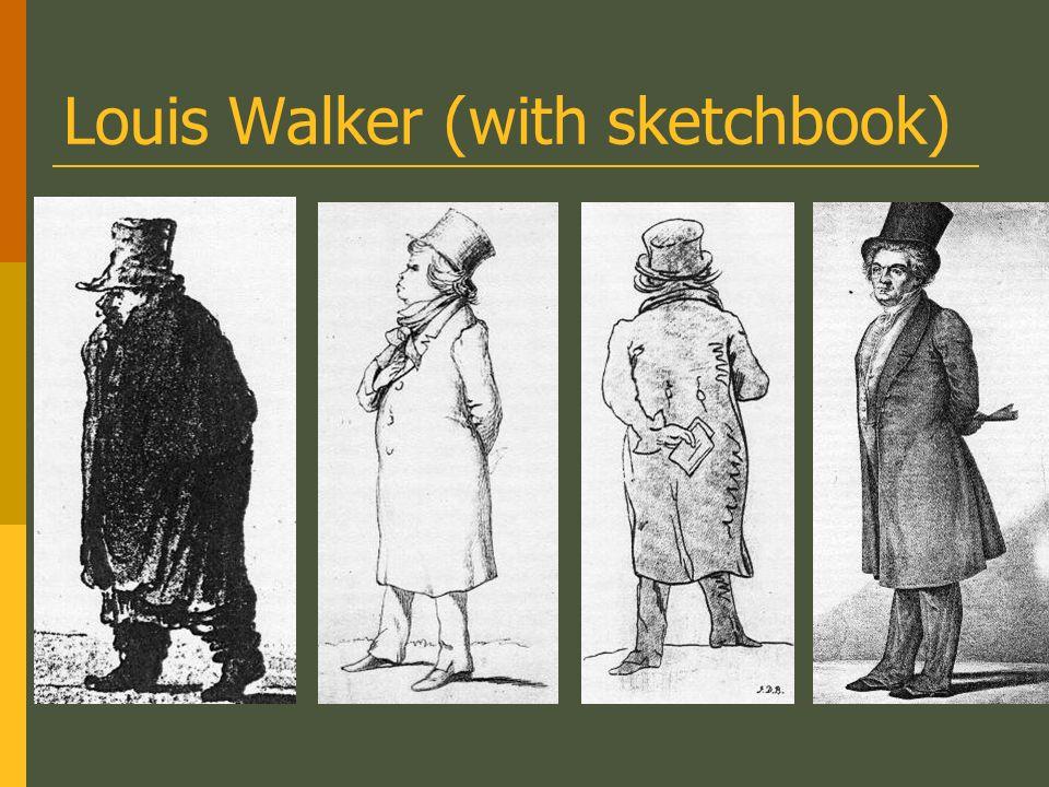 Louis Walker (with sketchbook)
