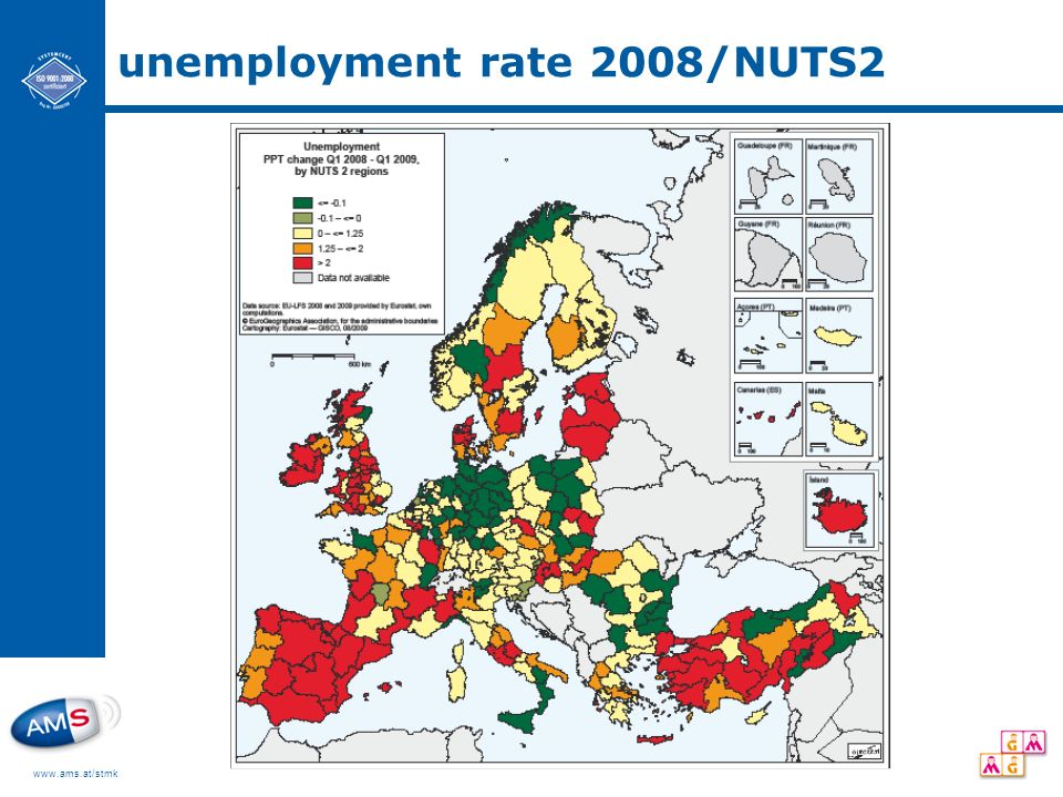 www.ams.at/stmk unemployment rate 2008/NUTS2