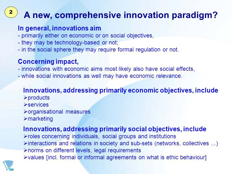 A new, comprehensive innovation paradigm.