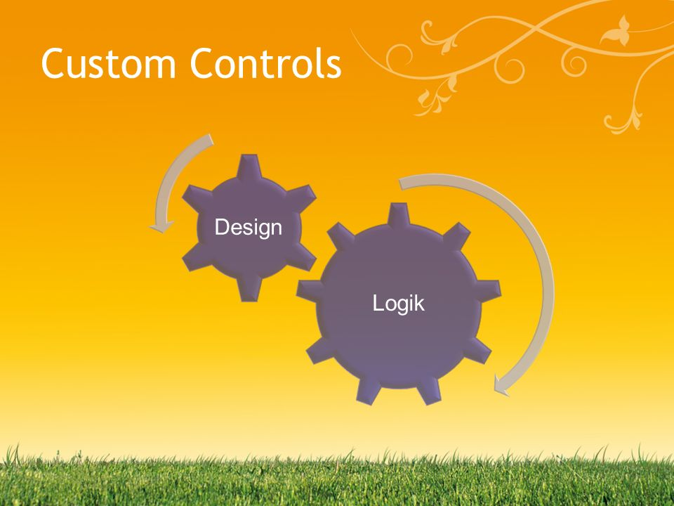 Custom Controls Logik Design
