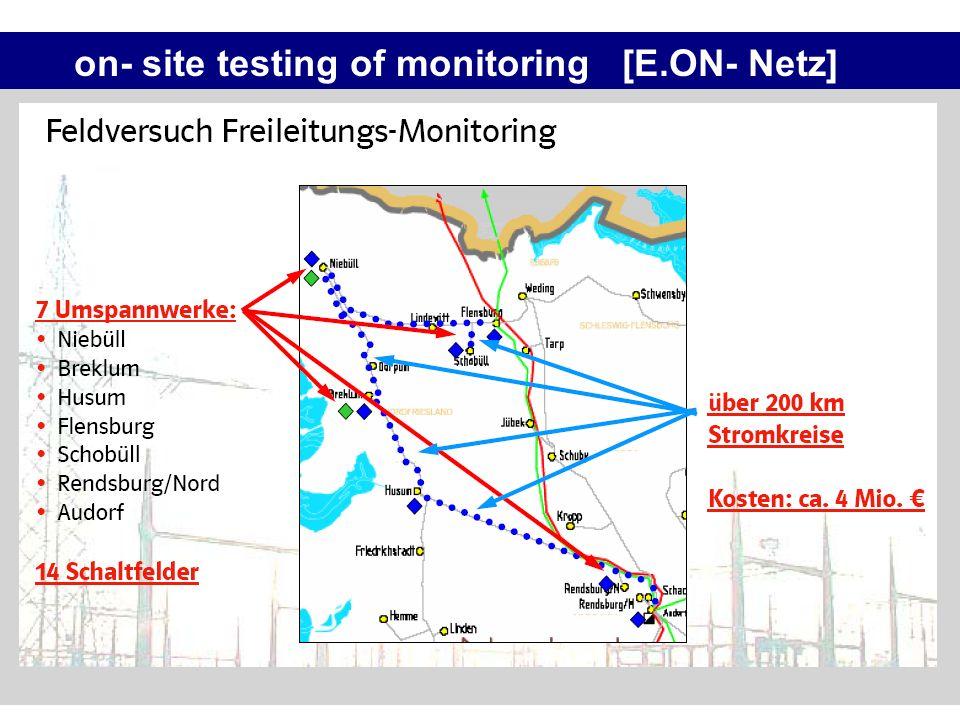 on- site testing of monitoring [E.ON- Netz]