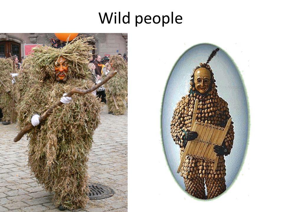 Wild people