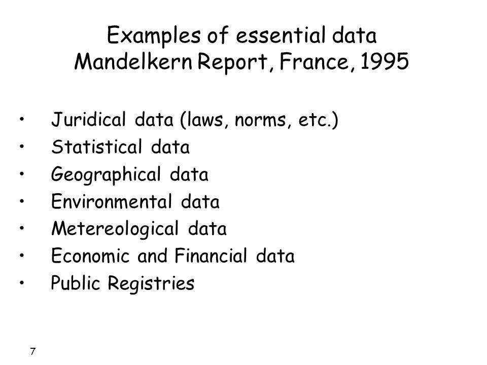 48 Public information and social and economic value Private Reuse Market Public Information Community Back office Open data Public information and social value