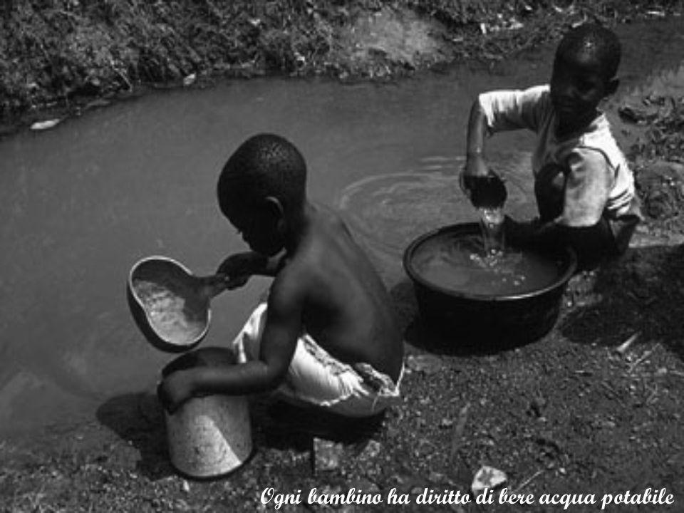 Ogni bambino ha diritto di bere acqua potabile