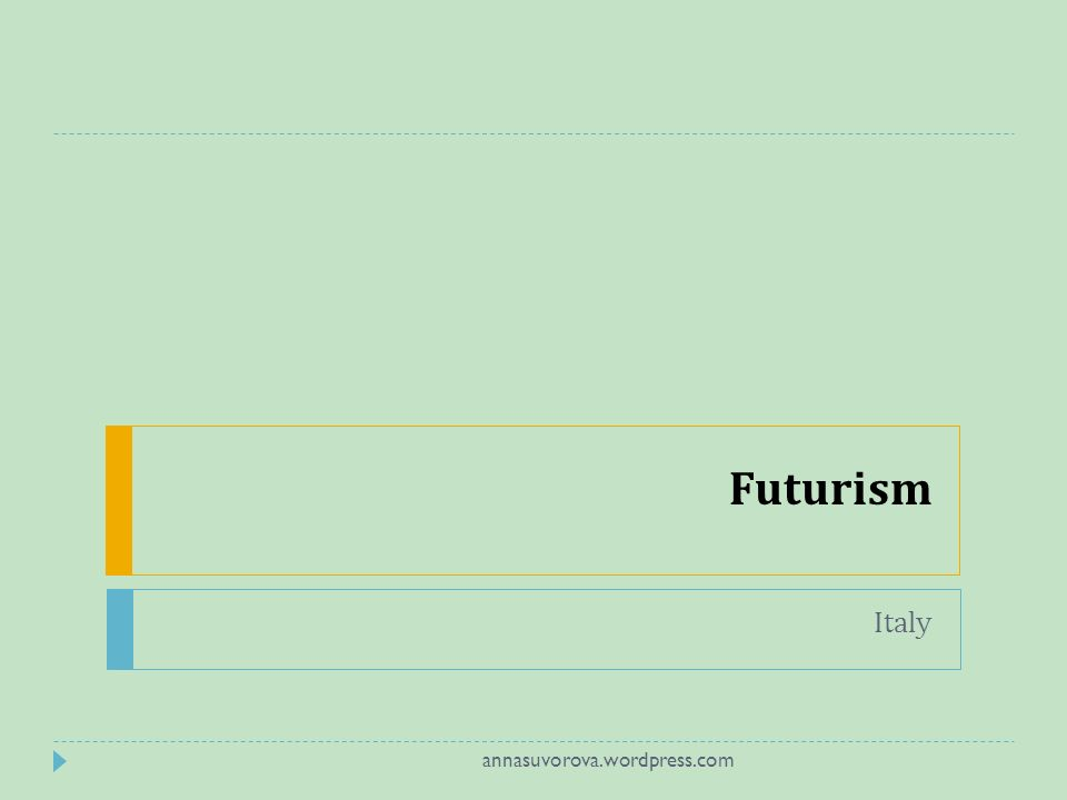 Futurism Italy annasuvorova.wordpress.com