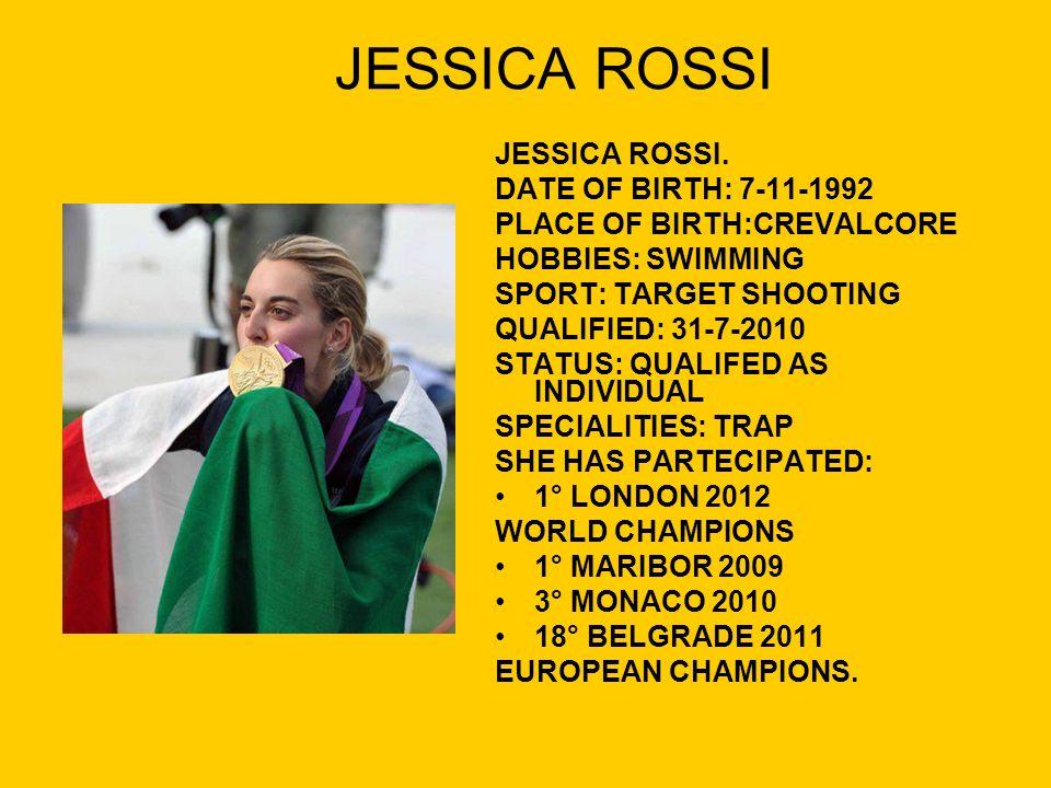 JESSICA ROSSI JESSICA ROSSI.