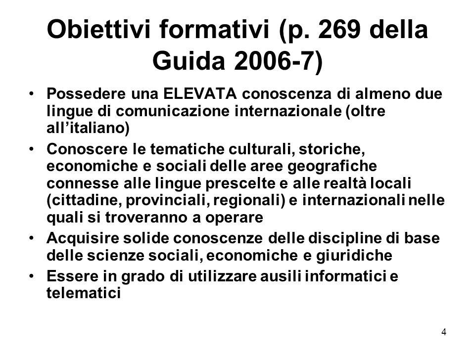 4 Obiettivi formativi (p.