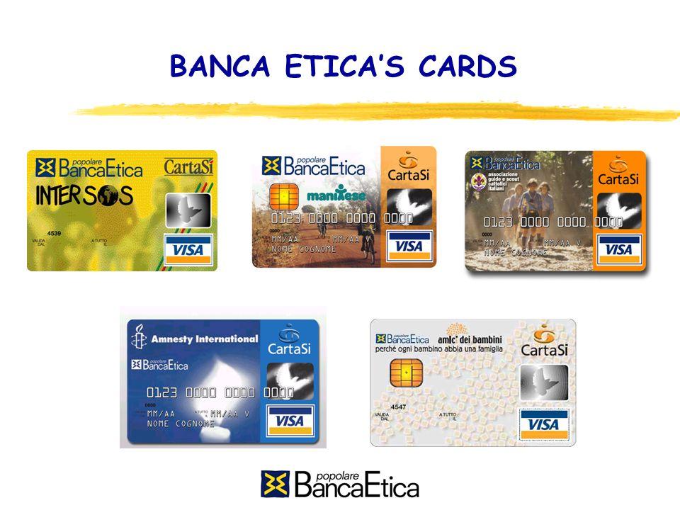 BANCA ETICAS CARDS