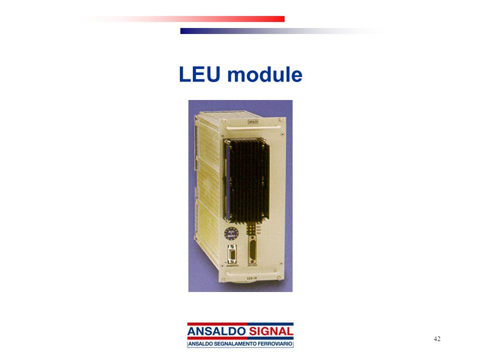 42 LEU module