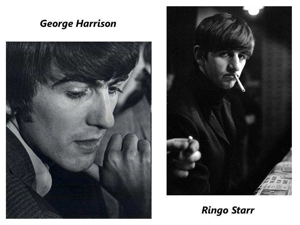 Ringo Starr George Harrison