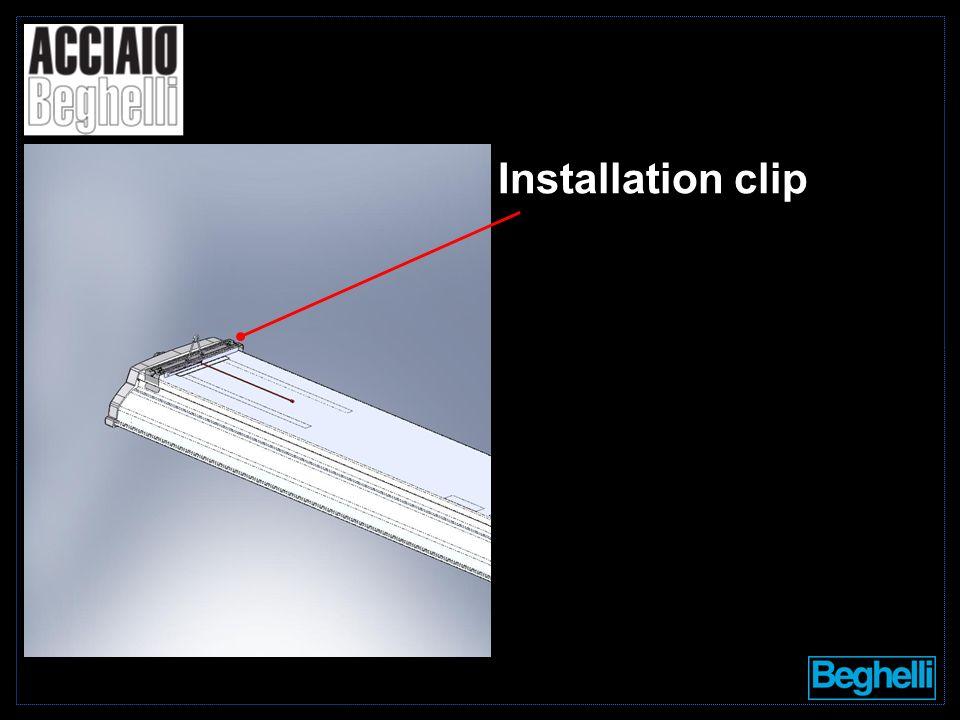 Installation clip