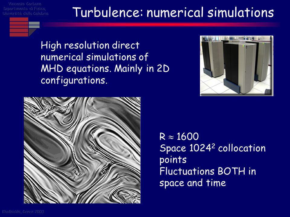 Turbulence: Solar atmosphere Solar flares: dissipative bursts within turbulent environment .