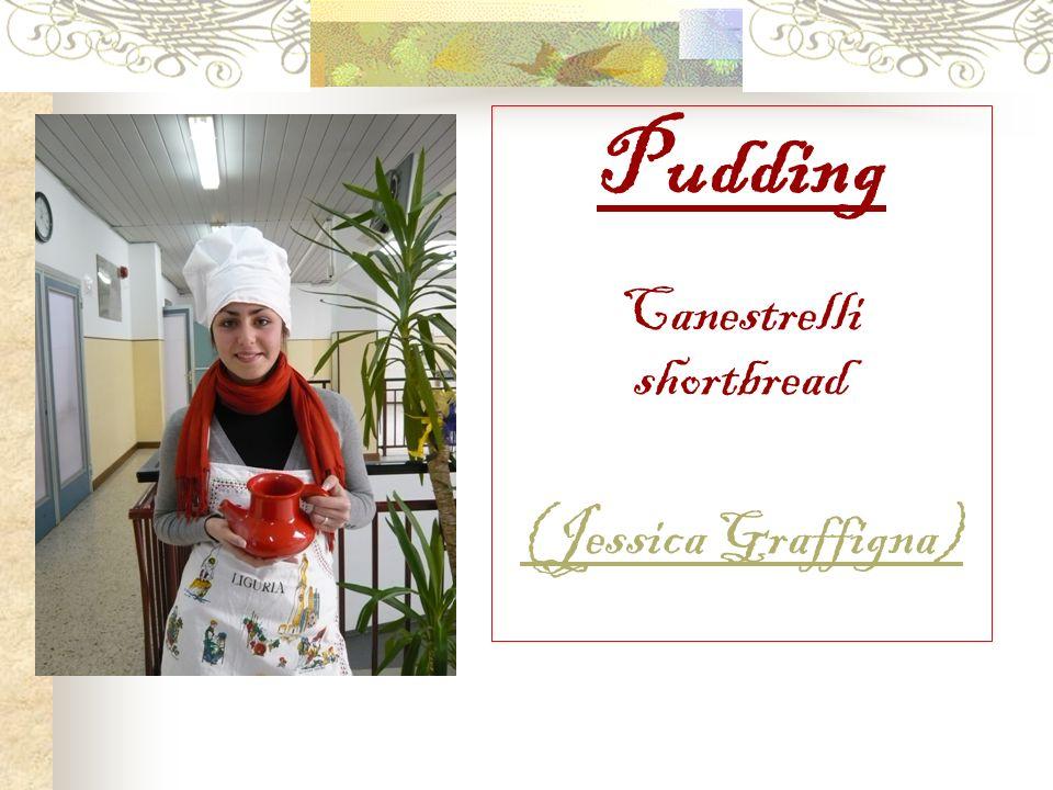 Pudding Canestrelli shortbread (Jessica Graffigna)