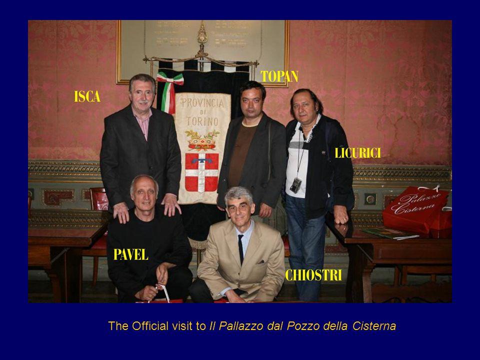The Official visit to Il Pallazzo dal Pozzo della Cisterna