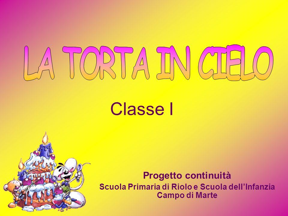 Progetto continuità Scuola Primaria di Riolo e Scuola dellInfanzia Campo di Marte Classe I