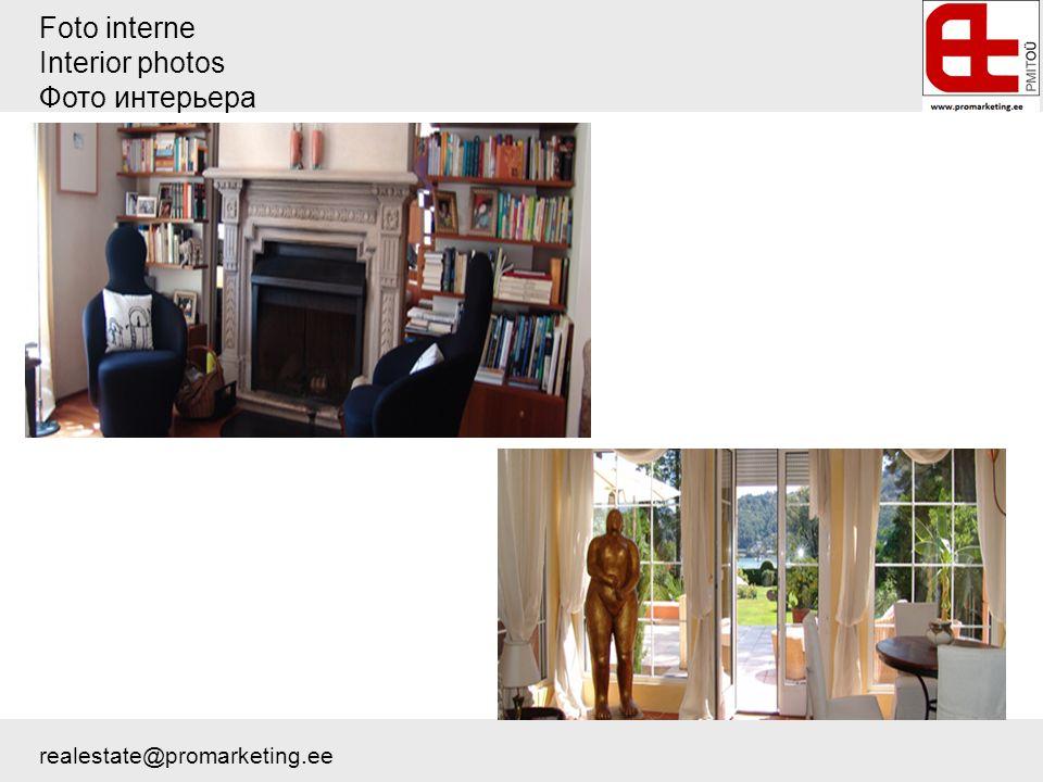 Foto interne Interior photos Фото интерьера realestate@promarketing.ee