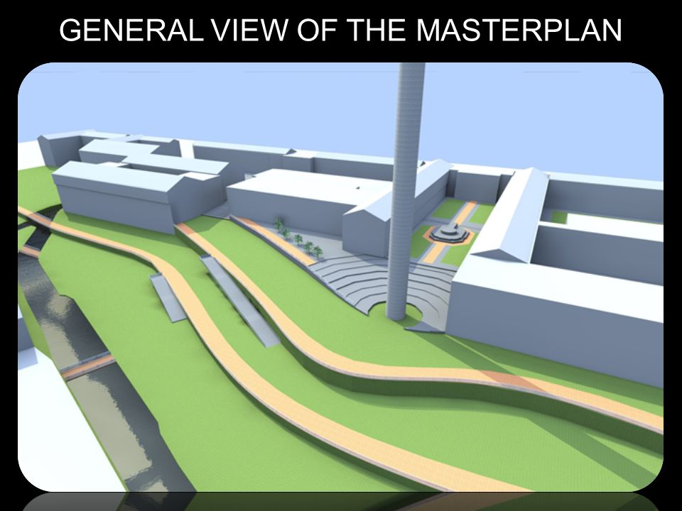 GENERAL VIEW OF THE MASTERPLAN