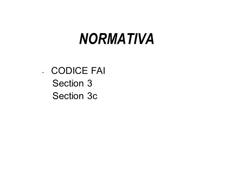 NORMATIVA Franca - CODICE FAI Section 3 Section 3c