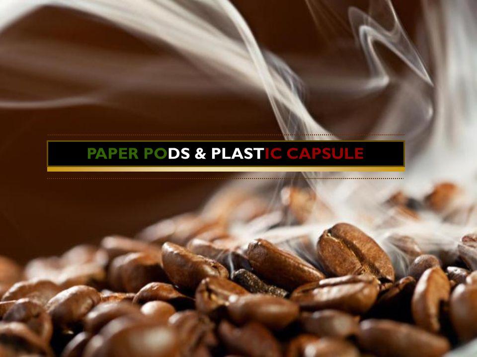 PAPER PODS & PLASTIC CAPSULE