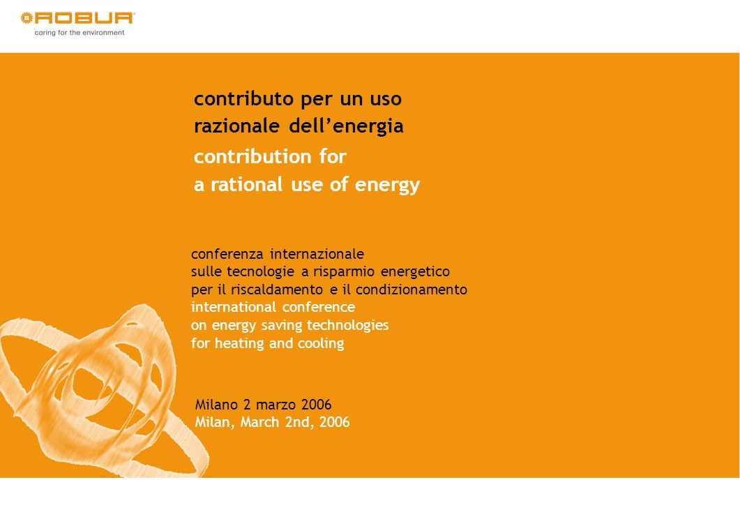Autorità per lenergia elettrica e il gas The main challenge: quantitative measurement of energy savings for each single measure implemented paying attention to distinguish additional savings from state of the art/business as usual evolution AEEG developed three evaluation approaches to measure energy saving: 1.standardized (deemed savings) approach (no measurement; installed units are considered according to their average energy saving) 2.analytical approach (predefined formula and measurement of some technical parameters) 3.energy monitoring plan (direct measurement of consumption before and after the project) Projects evaluation