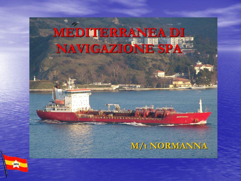 MEDITERRANEA DI NAVIGAZIONE SPA M/t NORMANNA